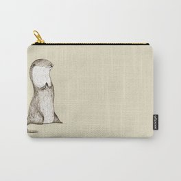 Sitting Otter Carry-All Pouch