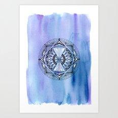 Geometric Circle 2 Art Print