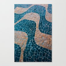 Color at the ground Canvas Print