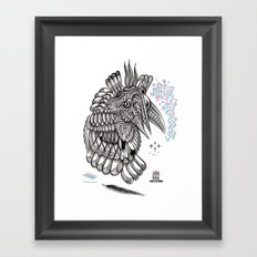 Fright 2 Framed Art Print