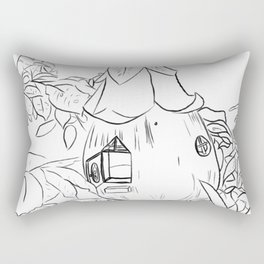 Fairy House Rectangular Pillow