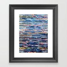 STRIPES 25 Framed Art Print