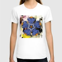 baroque T-shirts featuring Baroque Flower by FakeFred