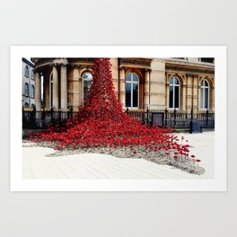 Poppies - City of Culture 2017, Hull Art Print