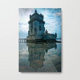 Leica Belem Portugal Metal Print