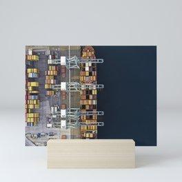 Cranes & Cargo Mini Art Print