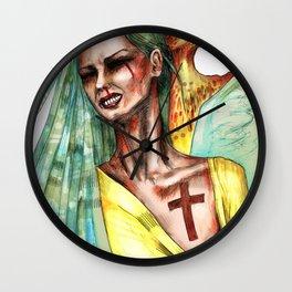 Hostage Wall Clock