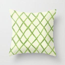 Lattice Throw Pillow