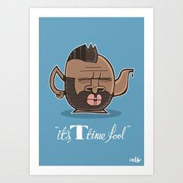 T-time Art Print