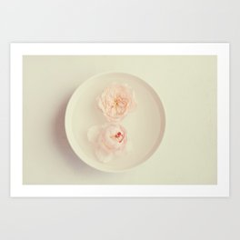 Two In A Bowl Art Print