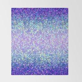 Glitter Graphic Background G105 Throw Blanket