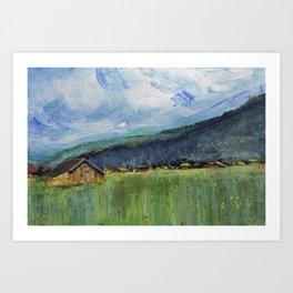 Alpine Trail Art Print
