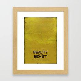B&B Framed Art Print