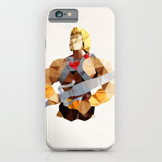 Polygon Heroes - He-Man iPhone & iPod Case
