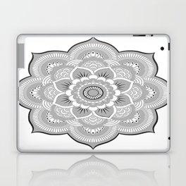 Gray Mandala Laptop & iPad Skin