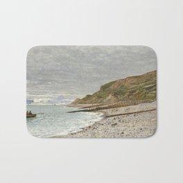 La Pointe de la Hève, Sainte-Adresse by Claude Monet Bath Mat