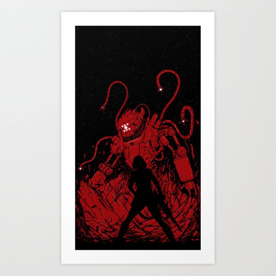 Surprise Attack Art Print