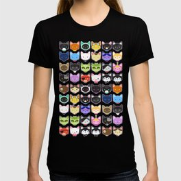 Love character cats T-shirt