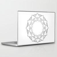 mandela Laptop & iPad Skins featuring Simple Mandela by Mikayla Vegar