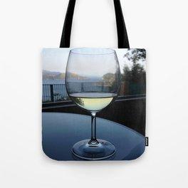 Relaxing Wine Tote Bag