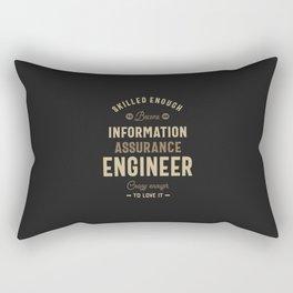 Information Assurance Engineer Rectangular Pillow