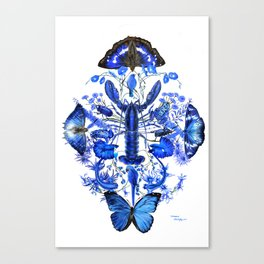 Ultramarine Canvas Print