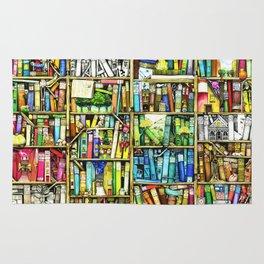 Bookshelf Fantasy Rug