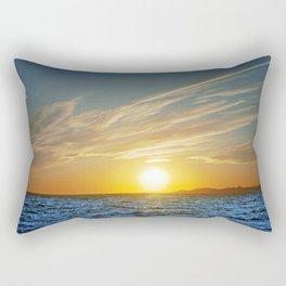 Sunset on the Horizon IV Rectangular Pillow
