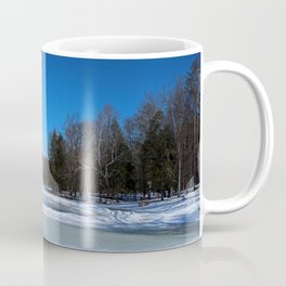Oak Openings in Winter Coffee Mug