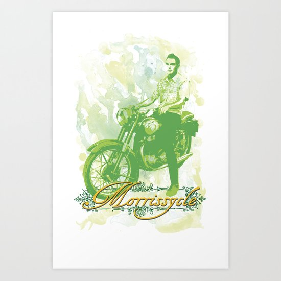 Morrissycle Art Print