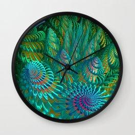 3D seashells artwork Wall Clock