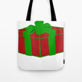 Gift Box Tote Bag