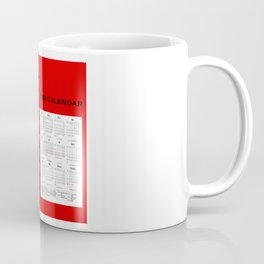 Calendar 2020 - Body Positivity Coffee Mug