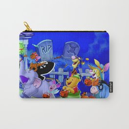 Cartoon Pooh Carry-All Pouch