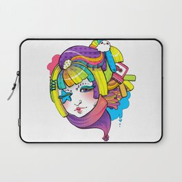 Starry Eyed Laptop Sleeve