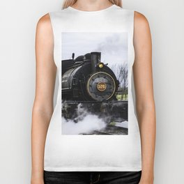 Steam Train Biker Tank