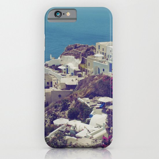 Oia from afar  iPhone & iPod Case