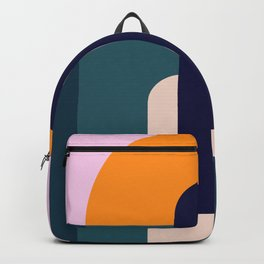 Sun Gazing Girl Backpack