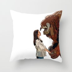 Inside the labyrinth, Ludo Throw Pillow