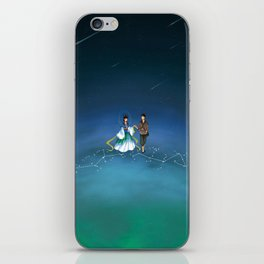 The Legend of the Milky Way iPhone Skin