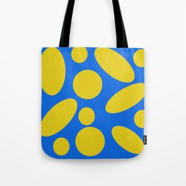 Blue and Yellow Spheres #1 Tote Bag
