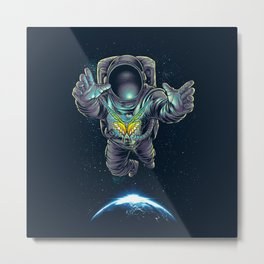 Butterstellar Metal Print