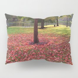 Red Maple Tree Pillow Sham