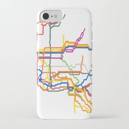 NYC Subway System (Complete) iPhone Case
