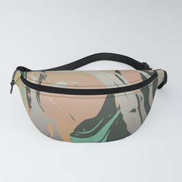 Abstract Marble 3 Fanny Pack