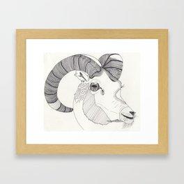 Rad Ram Framed Art Print