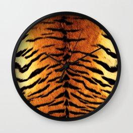 Tiger Skin Print Wall Clock