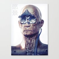 android Canvas Prints featuring Android by Ben Mauro