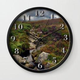 Wicklow Mountains, Republic of Ireland Wall Clock