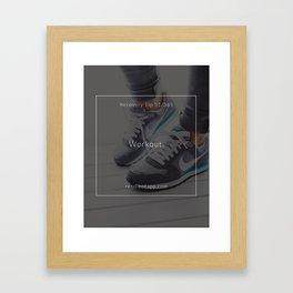 Recovery Tip #51 Framed Art Print